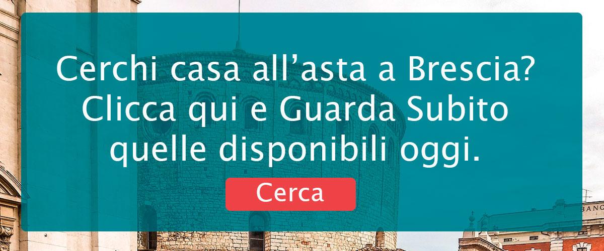 Banner di ricerca per vedere le Case in Asta a Brescia.