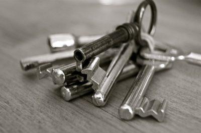 mazzo di chiavi casa