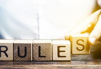 Regole da rispettare