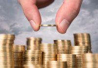 Una mano sistema delle monete